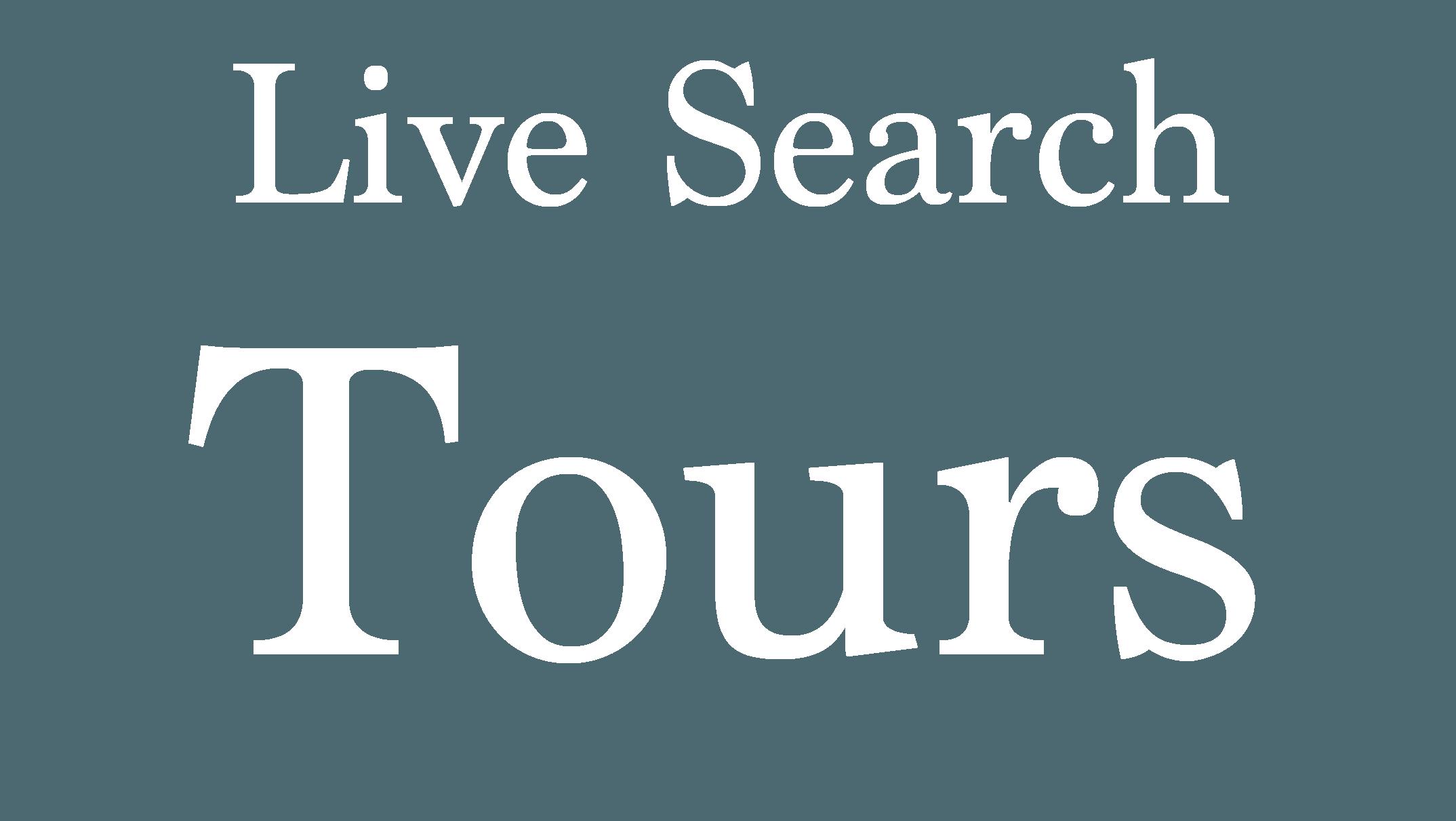Live Search Tours